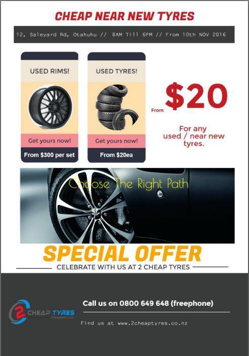 Cheap Car Tyres Auckland
